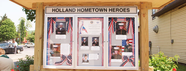 Hometown Heroes - Copyright Merilu O'Dell, Horizons Photography